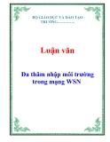Luận văn: Đa thâm nhập môi trường trong mạng WSN