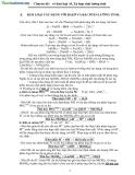 Chuyên đề về kim loại Al, Zn hợp chất lưỡng tính