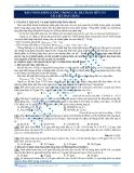 Bảo toàn khối lượng trong các bài toán hữu cơ tài liệu bài giảng