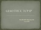 GIAO THỨC TCP/IP