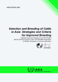 Selection and Breeding of Cattle  in Asia: Strategies and Criteria  for Improved Breeding