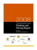 2008 Drinking and  Driving Report WORLDWIDE BREWING ALLIANCE
