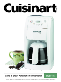 Grind & Brew™  Automatic Coffeemaker