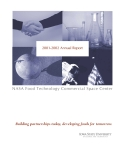 2001-2002 Annual Report: NASA Food Technology Commercial Space Center