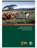 Status and Prospects for Smallholder Milk Production A Global Perspective