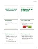 Kinh kế học vi mô 2 - Chương 3: Mở rộng lý thuyết sản xuất và chi phí sản xuất