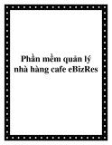 Phần mềm quản lý nhà hàng cafe eBizRes