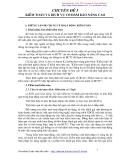 Chuyên đề 5 kiểm toán và dịch vụ có đảm bảo nâng cao