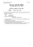 Ôn tập bài tập Kinh tế lượng  (32)