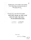 Khổ mẫu MARC 21  Việt Nam cho dữ liệu thư mục
