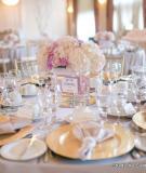Tiệc cưới lãng mạn với gam màu hồng pastel