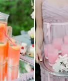 6 cách tiêt kiệm đồ uống cho tiệc cưới