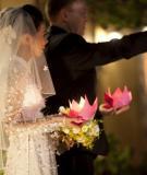 Ý tưởng thú vị cho các tiết mục cưới ngoài trời