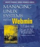 Managing Linux Systems with Webmin: System Administration and Module Development