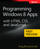 microsoft press  programming windows 8 apps with html css and javascript first preview