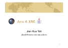 Introduction to Java and  XML