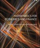 Mathematical Economics and Finance