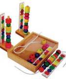 Giúp trẻ 5 tuổi học với đồ chơi