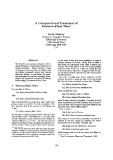 "Báo cáo khoa học: ""A Computational Treatment of Sentence"""