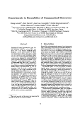 """Báo cáo khoa học: """"Experiments in Reusability of Grammatical Resources"""""""