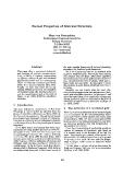 "Báo cáo khoa học: ""Formal Properties of Metrical Structure"""