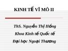 KINH TẾ VĨ MÔ II