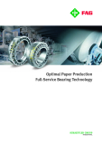 Optimal Paper Production    Full-Service Bearing Technology