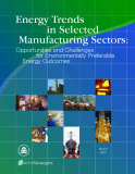 Energy Trends  in Selected  Manufacturing Sectors:  Opportunities and Challenges             for Environmentally Preferable  Energy Outcomes