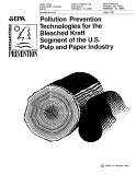 POLLUTION PREVENTION TECHNOLOGIES FOR THE BLEACHED KRAFT SEGMENT OF THE U.S. PULP AND PAPER INDUSTRY
