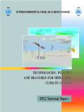 TECHNOLOGIES, POLICIES AND MEASURES FOR MITIGATING CLIMATE CHANGE