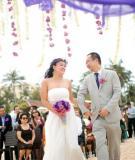 Tổ chức đám cưới trên bờ biển hay tại nhà?
