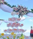 Tiệc cưới ngoài trời, lựa chọn yêu thích của nhiều cặp đôi