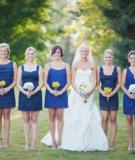 Cách phối màu ăn ý giữa áo cô dâu và dâu phụ