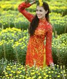 Cách tân áo dài cưới truyền thống