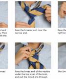 Hướng dẫn thắt cravat cho chú rể