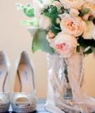 17 mẫu hoa cầm tay cô dâu quấn ren tuyệt đẹp