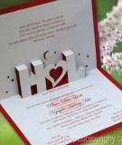 Thiệp cưới Cung Hỷ - Tỏa sáng từ chữ Tâm