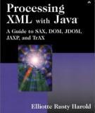 Processing XML with Java  Processing XML with Java