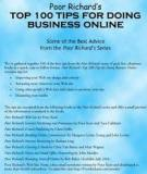 top 100 tips for doing business online