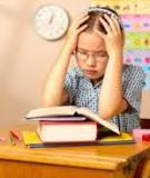 Quá nhiều bài tập về nhà gây hại cho trẻ