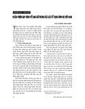 """Báo cáo """" Hoàn thiện quy định về tạm giữ trong Bộ luật tố tụng hình sự Việt Nam """""""