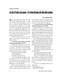"""Báo cáo """" Cơ cấu tổ chức của ASEAN - từ Tuyên bố Băng Cốc đến Hiến chương """""""