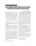 Đề tài báo cáo 'Về mối quan hệ giữa thủ tục công chứng, chứng thực và đăng ký hợp đồng thế chấp tài sản '