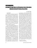 """Báo cáo """" Hoàn thiện một số quy định về hình phạt và quyết định hình phạt của Bộ luật hình sự năm 1999 nhằm đảm bảo hơn nữa nguyên tắc nhân đạo trong luật hình sự """""""