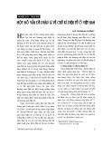 """Báo cáo """" Một số vấn đề pháp lí về chữ kí điện tử ở Việt Nam """""""