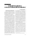 """Báo cáo """" Khái niệm miễn trách nhiệm hình sự và phân loại các trường hợp miễn trách nhiệm hình sự """""""