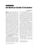 """Báo cáo """" Hoàn thiện pháp luật về bảo hiểm y tế ở Việt Nam hiện nay """""""