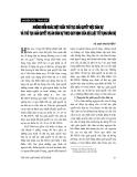 """Báo cáo """" Những điểm khác biệt giữa thủ tục giải quyết việc dân sự và thủ tục giải quyết vụ án dân sự theo quy định của Bộ luật tố tụng dân sự """""""