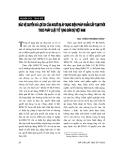 """Báo cáo """" Bảo vệ quyền và lợi ích của người bị áp dụng biện pháp khẩn cấp tạm thời theo pháp luật tố tụng dân sự Việt Nam """""""