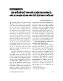 """Báo cáo """" Thẩm quyền giải quyết tranh chấp lao động theo quy định của pháp luật lao động Việt Nam - nhìn từ góc độ sử dụng cơ chế ba bên """""""